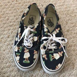 Vans sneaker - Hula Girls print